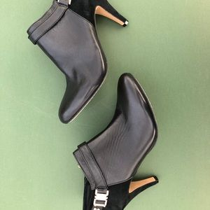 Vince Camuto Suede and Leather Booties
